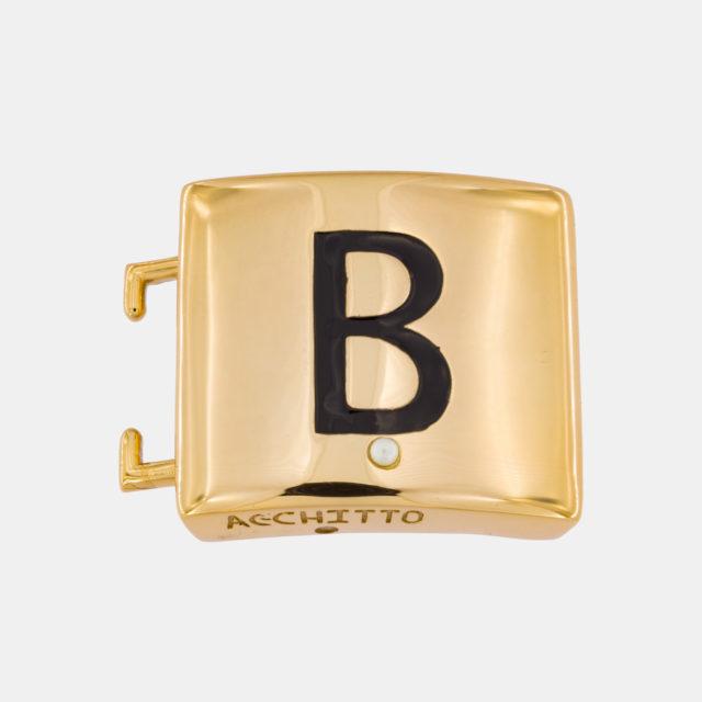Placca lettera B