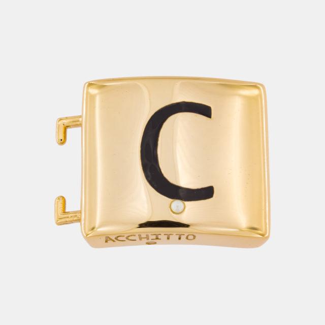 Placca lettera C