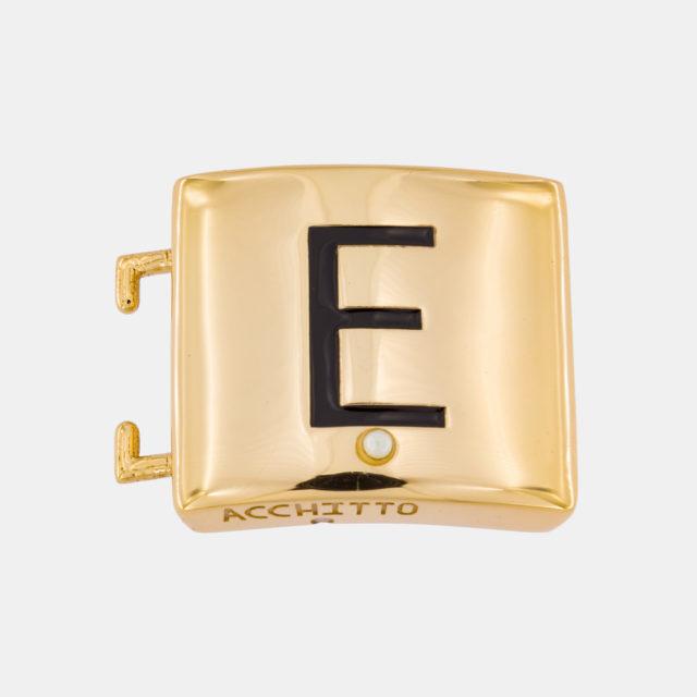 Placca lettera E