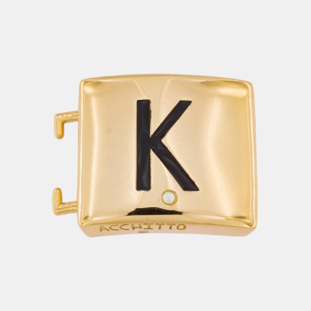 Placca lettera K