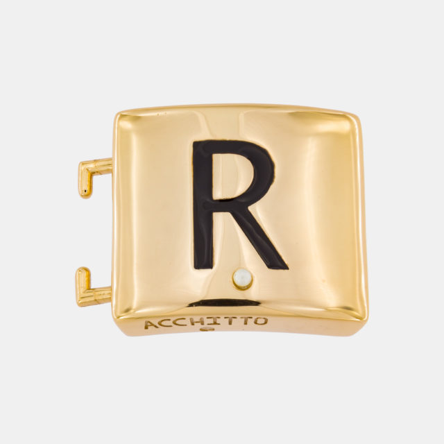 Placca lettera R
